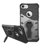 DELTACO Sniper Case for iPhone 7/8, rotating stand, thermal grooves, dark grey