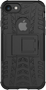 DELTACO Dazzler Case for iPhone 7/8, shockproof, thermal grooves, black