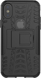 DELTACO Dazzler Case for iPhone X, shockproof,  thermal grooves, black (IPX-123)