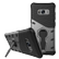 DELTACO Sniper Case for Galaxy S8, rotating stand, thermal grooves, dark grey