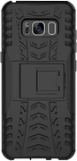 DELTACO Dazzler Case for Galaxy S8, shockproof, thermal grooves, black