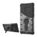 DELTACO Sniper Case for Galaxy S9, rotating stand, thermal grooves, dark grey