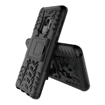 DELTACO Dazzler Case for Galaxy S9, shockproof,  thermal grooves, black