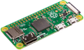 RASPBERRY PI Zero, seperate GPIO headers, microSD, green