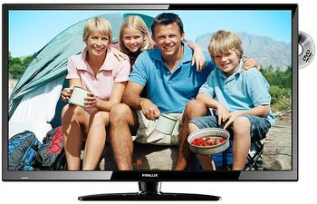 "FINLUX 32"" LED TV m/DVD 12V HD Ready, 2 HDMI, USB Rec.  Polaritetsbeskyttet,  15W, 10-28V, triple tuner (32C285FLXD)"
