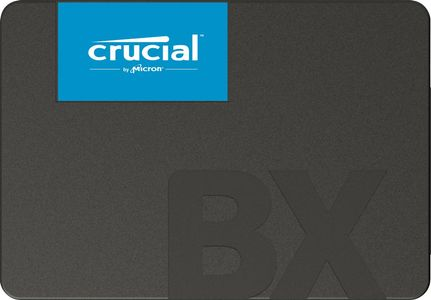 "CRUCIAL BX500 480GB 2,5"" SSD SATA 3.0, up to 540/ 500MB/ s read/ write,  7mm (CT480BX500SSD1)"