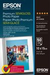 EPSON PREMIUM SEMIGLOSS PHOTO PAPER 10X15 50 CT NS (C13S041765)