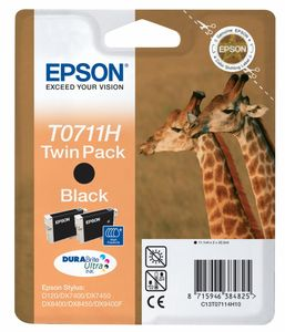 EPSON Ink Cart/ DURABrite Ultra black 2pk (C13T07114H20)