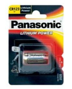 PANASONIC Lithium Photo CR123A/ 1BP - Kamera-Batterie (2b222599)
