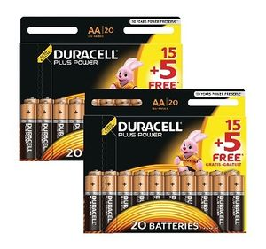 DURACELL Plus AA 40 Pack (MN1500-X40)