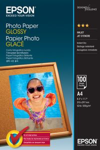 EPSON Photo Paper Glossy A4 100 sheets (C13S042540)