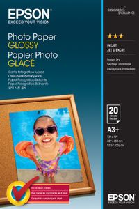 EPSON Photo Paper Glossy A3+ 20 sheet (C13S042535)