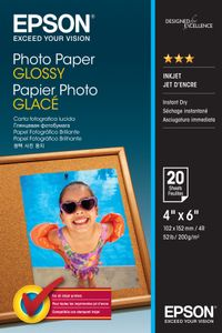 EPSON Photo Paper Glossy 10x15cm  20 sheet (C13S042546)