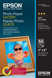 EPSON Photo Paper Glossy 10x15cm 50 sheet (C13S042547)