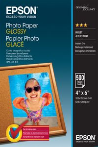 EPSON Photo Paper Glossy 10x15cm 500 sheet (C13S042549)