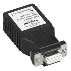 BLACK BOX Converter Mini Async RS232 to RS422 Factory Sealed (IC630A-F)