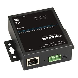 BLACK BOX 10/100 DEVICE SERVER RS232/ 422/ 485 - 1 PORT (LES301A)