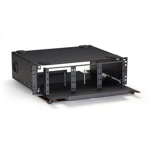 BLACK BOX Modular FO Patch Panel - Panel for 12 Adp. Factory Sealed (JPM406A-R6)