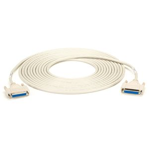 BLACK BOX DB25 MOULDED CABLE - F/F, 7.6M (BC00713)
