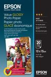 EPSON Value Photo Paper 10x15cm 20 sheets (C13S400037)