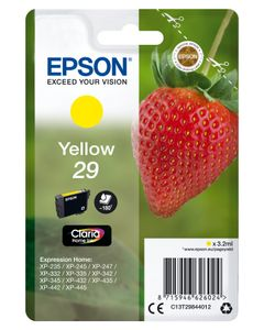 EPSON Cartridge Fraise - Ink Claria Home Yellow (C13T29844022)