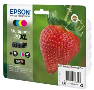 EPSON 29XL Multipack Black Cyan Magenta Yellow Claria Home (C13T29964012)