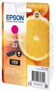 EPSON Ink/33 Oranges 4.5ml MG (C13T33434012)