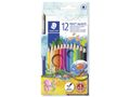 STAEDTLER Farveblyant Noris Club Akvarel ass (12)