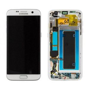 SAMSUNG LCD Assembly Octa White (GH97-18533D)