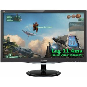 "VIEWSONIC 24"" LED FreeSynC VX2457-MHD 1920x1080,  75hz, 1ms, 1000:1, Speakers, VGA/ HDMI/ DP (VS16263)"