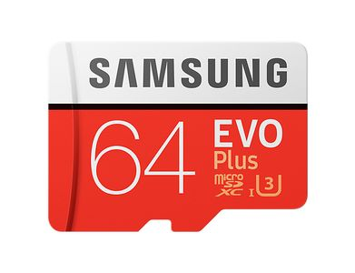SAMSUNG Micro SD 64GB EVO+w SD Adapter class 10 (MB-MC64GA/EU)