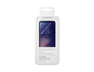 SAMSUNG Screen Protector Transparent,  for Galaxy S8 (ET-FG950CTEGWW)