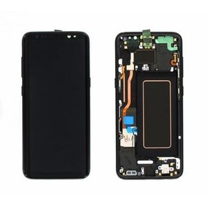 SAMSUNG Mea Front Octa LCD Black (GH97-20457A)