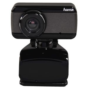 HAMA Webcam Speak2 USB Svart/Grå (00139990)