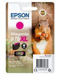 EPSON Singlepack Magenta 378XL Squirrel Clara Photo HD Ink (C13T37934010)