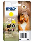 EPSON Singlepack Yellow 378XL Squirrel Clara Photo HD Ink (C13T37944010)