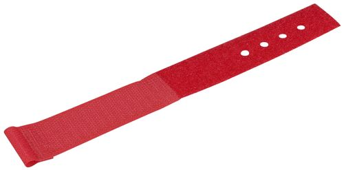 BLACK BOX 15-CM H&L LITE CABLE WRAP - 10-PACK, RED (FT9381)