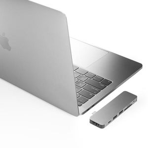 HYPER - Hyperdrive Solo Hub for Macbook (Silver) (GN21D-SILVER)