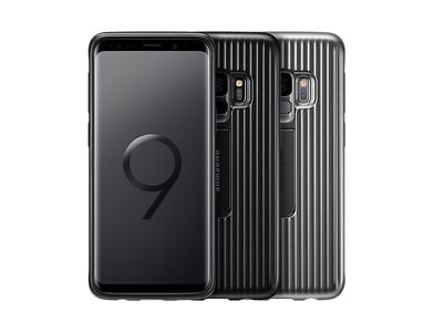 SAMSUNG Protective Standing Cover Sort, for Galaxy S9 (EF-RG960CBEGWW)