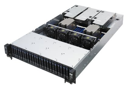 ASUS RS720A-E9-RS24E+ PIKE 3108 8L 240PD AMD EPYC RACKSERVER     IN BARE (90SF00A1-M00080 +)