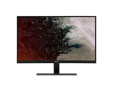 "ACER Nitro RG270 - LED-skærm - 27"""" - 1920 x 1080 Full HD (1080p) - IPS - 250 cd/m² - 1 ms - 2xHDMI, VGA - højtalere - sort (UM.HR0EE.005)"