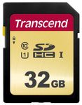 TRANSCEND Memory card Transcend SDHC SDC500S 32GB CL10 UHS-I U1 Up to 95MB/S (TS32GSDC500S)