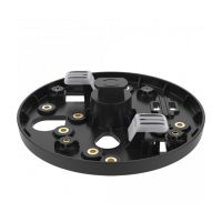AXIS T91A33 LIGHT TRACK MNT BLK 4P (01474-001)