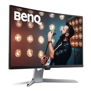 BENQ 32__ EX3203R Curved 144Hz 2560x1440 HDMIx2/ DP/ USB3_1x2/ USB-C/ Headphone Jack (9H.LGWLA.TSE)