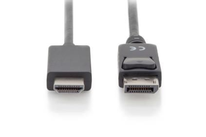ASSMANN Electronic DisplayPort Adapter Cable DP - HDMI type A Factory Sealed (AK-340303-010-S)
