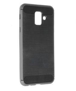 INSMAT BACKCOVER/ CARBON_STEEL GALAXY A6 2018 (650-1736)