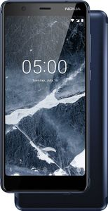 "NOKIA 5.1, 14 cm (5.5""""), 16 GB, 16 MP, Android, 8.0, Sort (11CO2L01A08)"