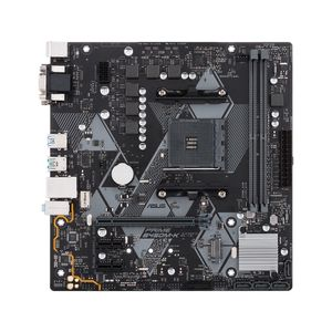 ASUS PRIME B450M-K B450 MATX SND+GLN+U3.1+M2 SATA 6GB/S DDR4  IN CPNT (90MB0YP0-M0EAY0)