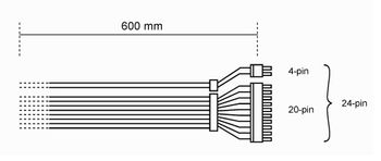 BE QUIET! be quiet_ MB POWER CABLE CB-6620 (BC080)
