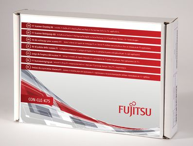 FUJITSU F1 SCANNER CLEANING KIT 1XBOTTLE FOR 75+ APPLICATIONS SUPL (CON-CLE-K75)